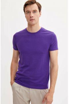 DeFacto Erkek Slim Fit T-shirt(108987109)