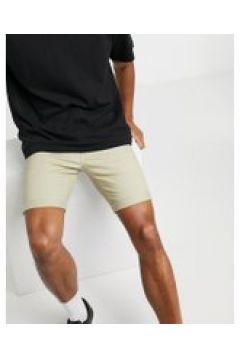 Topman - Pantaloncini chino skinny grigio pietra(120251711)
