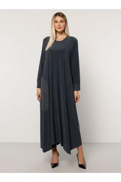 Robe Grande Taille Alia Anthracite(125449226)