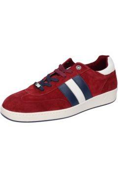 Chaussures D\'acquasparta sneakers bordeaux daim AB869(115393873)
