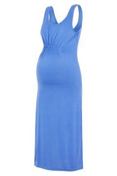 MAMA.LICIOUS Jersey Bodycon Umstandskleid, Kurz Damen Blau(110709838)