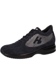Chaussures Hornet Botticelli sneakers bleu daim strass AE311(115399445)