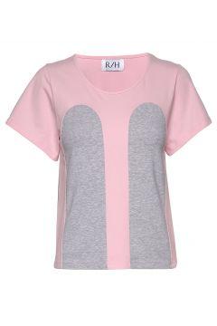 Mickey Tee T-Shirt Top Pink R/H STUDIO(111057359)