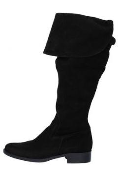 Bottes Paprika bottes noir daim AJ534(115400252)