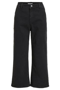 OBJECT COLLECTORS ITEM Mid Waist Wide Fit Jeans Damen Schwarz(112084781)
