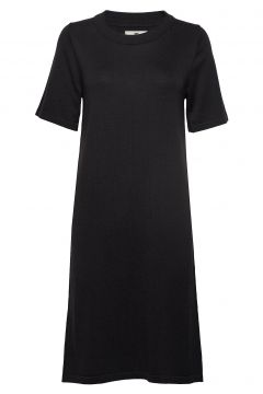 Amy Knitted Dress Kleid Knielang Schwarz LEXINGTON CLOTHING(114163213)