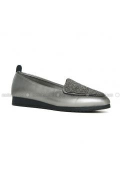 Silver tone - Flat - Flat Shoes - Angelshe(110340321)