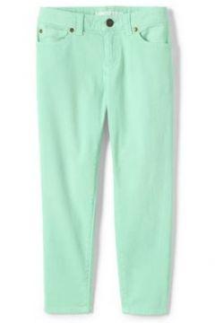 Verwaschene Skinny Jeans für Mädchen - Grün - 122/128 von Lands\' End(108054917)