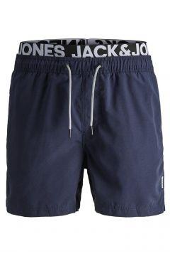 JACK & JONES Snabbtorkande Badshorts Man Blå(114365146)