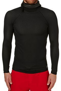 Xcel Celliant 2mm Long Sleeve Drylock Hooded Thermal Rash Vest - Black(100661659)