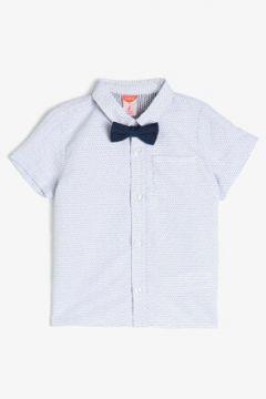 Koton Erkek Çocuk Klasik Yaka Erkek Bebek Gömlek(118442752)