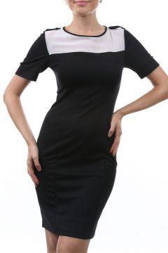 Caramel Lacivert Elbise(113964721)