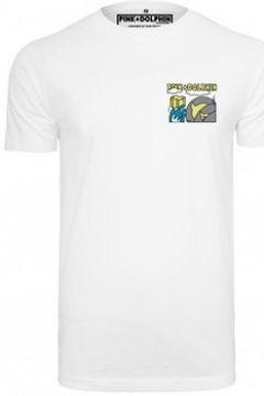 T-shirt Pink Dolphin T-shirt avec imprimé Level Up(127968877)