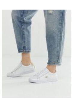 Lacoste - Carnaby Evo 118 - Weiße Sneaker mit goldfarbener Verzierung - Weiß(95029535)