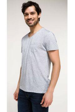 DeFacto Erkek Slim Fit V Yaka T-shirt(108986510)