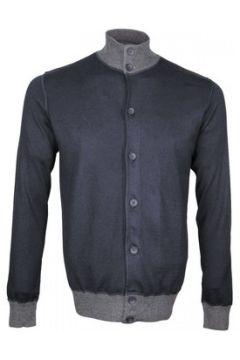 Gilet Emporio Balzani cardigan torino bleu(88704895)