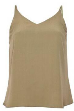 Kakifarbenes Trägerhemd, DP Petite-Größe(112316437)
