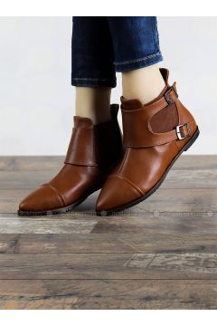 Tan - Boot - Boots - Angelshe(110340365)