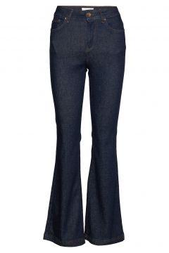 Pzliva Jeans Jeans Mit Schlag Blau PULZ JEANS(114151981)