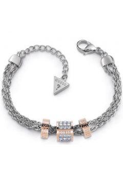 Bracelets Guess Bracelet en Acier Bicolore et Cristal Blanc Femme(101598977)