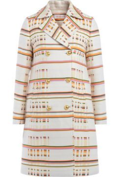 Manteau Tory Burch Manteau multicolore à double boutonnage(101649667)