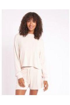 Chelsea Peers - Pantaloncini da casa in jersey morbido crema(124785470)