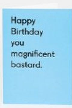 Ohh Deer - Happy Birthday you magnificent bastard - Biglietto - Multicolore(92917962)