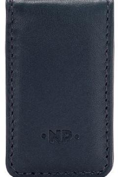 Portefeuille Nuvola Pelle Pince à billets en cuir Nappa - Pete - Bleu(115538966)