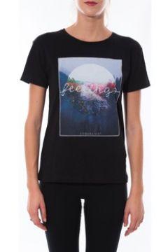 T-shirt Coquelicot T-shirt Noir 16423(88505091)
