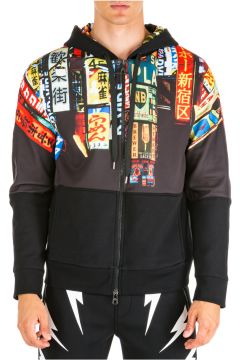 Men's hoodie sweatshirt sweat slim fit shinjuku soho(118298516)