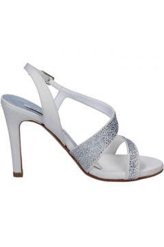 Sandales Albano sandales blanc soie swarovski BT813(115493256)