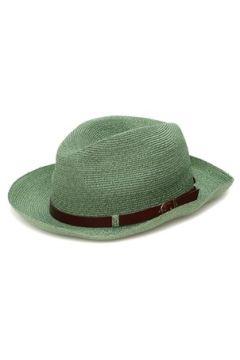 Grevi Erkek Yeşil Kemer Detaylı Hasır Dokulu Şapka S EU(118060168)
