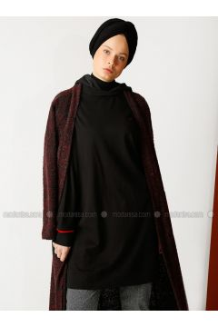 Cotton - Black - Sweat-shirt - Meryem Acar(110323362)