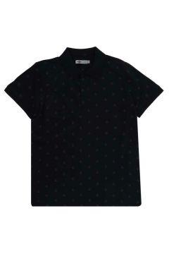 Lee Cooper Pool Lacivert Polo Yaka T-Shirt(116992302)