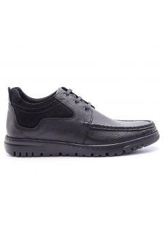 Derimod Hakiki Deri Erkek Siyah Ayakkabı(105140935)