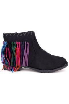Bottines Cendriyon Bottines Noir Chaussures Femme(115424971)
