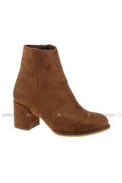 Tan - Boot - Boots - DERİGO(110339478)