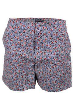 Short Tommy Hilfiger Short Taylor fleuri bleu et rouge pour femme(88455250)