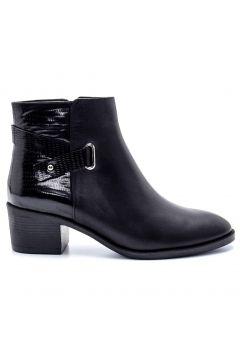 Derimod Kadın Siyah Deri Topuklu Bot(123676936)