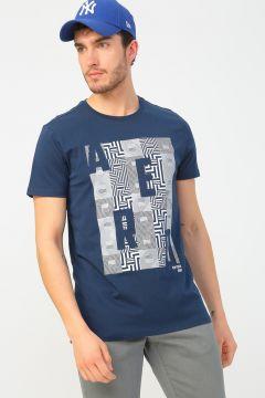 Aeropostale Lacivert T-Shirt(125087230)