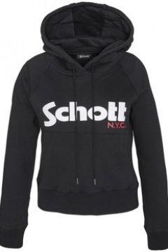 Sweat-shirt Schott Sweatshirt à capuche femme SW GINGER 2 W Noir(115631082)