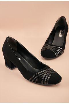 Bambi Siyah Kadın Casual Ayakkabı(124427027)