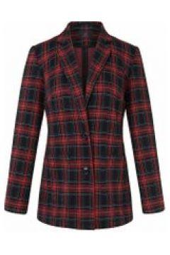 Jersey-Blazer mit Reverskragen Anna Aura marine/rot(111503845)