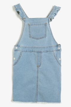 Koton Kız Çocuk Cep Detayli Jean Elbise(113786900)