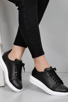 G.Ö.N Siyah Kadın Sneaker(110940613)