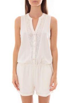 Combinaisons Lpb Woman Textile Les Petites bombes Combi Short Dentelle Blanc S175703(88507134)