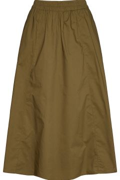 Cassiagz Skirt Ao20 Knielanges Kleid Grün GESTUZ(116997436)