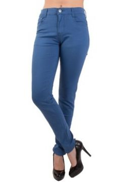 Jeans Primtex Jean coupe slim bleu roi taille haute 36-44(115515917)