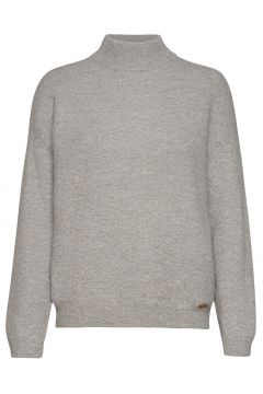 Norakb Turtleneck Rollkragenpullover Poloshirt Grau KAREN BY SIMONSEN(120748171)