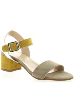 Sandales Reqin\'s Nu pieds cuir velours(127908139)